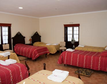 Mutiple bed room in the former School